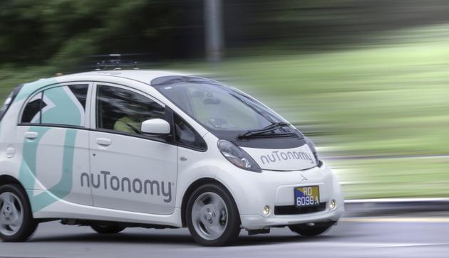 无人车创业公司NuTonomy获1600万美元A轮融资