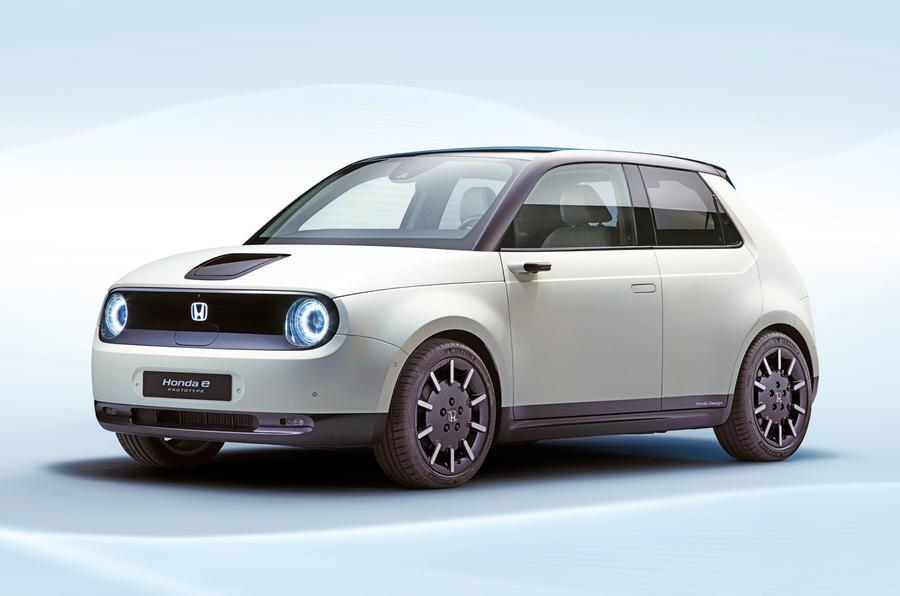 本田全新城市电动汽车发布年底率先在欧洲上市