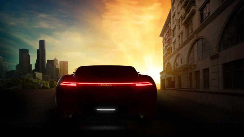 Karma三款车将亮相上海车展Vision概念车预告发布
