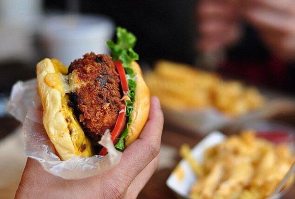 营养学家:素食快餐并非减肥餐 多吃也会发福
