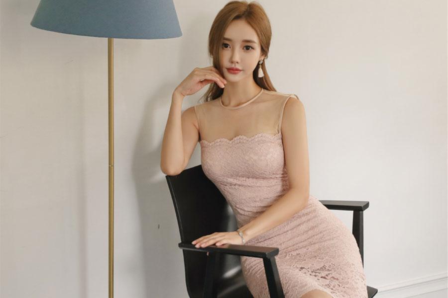 柔梦玻璃明丽绞花细纹古典裙 迄今拍摄最美的珠珠