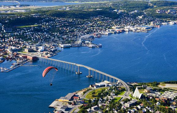 北极圈里的极美之城 挪威最北不冻港