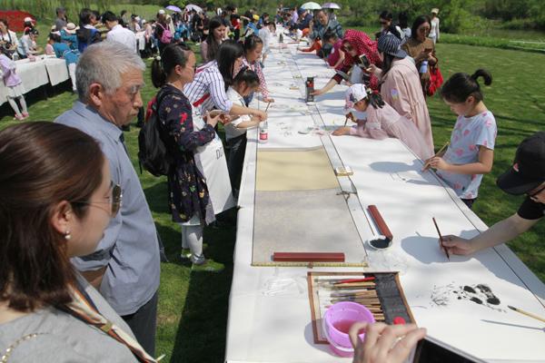40多种花卉进入盛花期 杭州西溪花朝节迎来最美时段