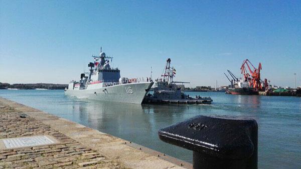 外媒关注中俄军演 称中国显示打造远洋海军决心
